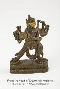 Chakrasamvara in union with Vajrayogini