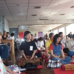 Participants at Healing Mind and Body