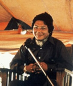 Trungpa Rinpoche at Naropa Institute