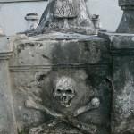 Tomb of Fermin Mundaca, 19th Century slave trader, eptaph: