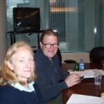 Helen Bonzi and Tom Gottleib