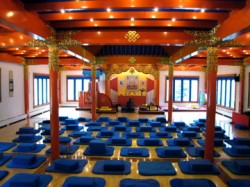 Karme Choling shrine room