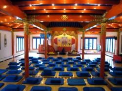 Karme Choling shrine room