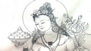 Queen Lhamo Natsok Yum