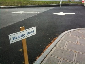 The road to health includes a healthy mind. Photo courtesy of Jennifer Holder.