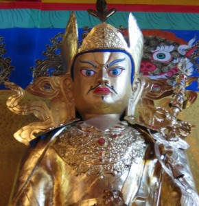 "Padmasambhava, known to Tibetans as Guru Rinpoche (""the precious guru"")"