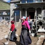 Demolition in Jyekundo, Shedra Construction Resumes at Surmang