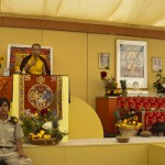 Sunshine and Delight at Great Mandala Offering
