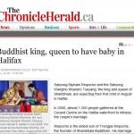 Canadian Media has its Eye on Royal Birth