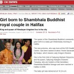 Indulge Your Senses in a World of Mukpo Baby News - from the Shambhala Times