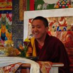 Arrival of Khyentse Yangsi Rinpoche