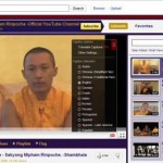 Official YouTube Channel for Sakyong Mipham Rinpoche
