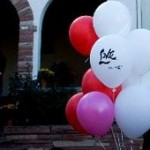 'Love' Balloons over Boulder for Princess Drukmo