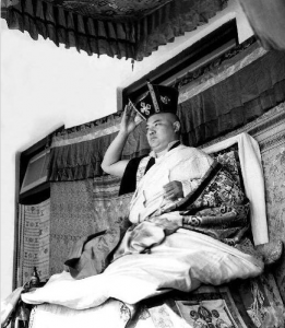 His Holiness Rangjung Rigpe Dorje, the 16th Gyalwang Karmapa