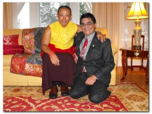 Sakyong Mipham Rinpoche and Paul Halpern