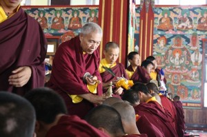 Blessing Line on the Final Day of the Rinchen Terdzo