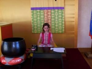 Dali meditating