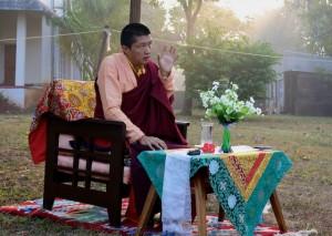 Jigme Rinpoche gives a talk in Orissa