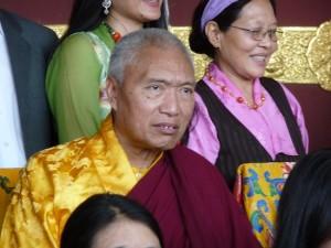 His Eminence with Sangyum Chime Dolkar