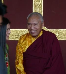 His Eminence with Khandro Tseyang