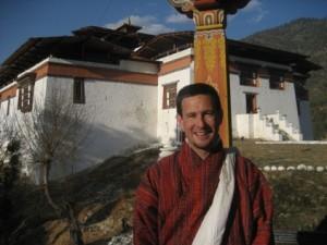 David McDonnell, Shambhala Times' man in Bhutan