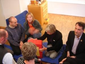 Governance Training participants prepare to contemplate