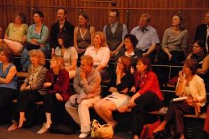 Participants at Shambhala Congress, May 2007, Koln, Germany.