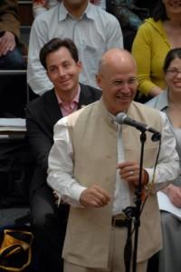 President Richard Reoch, and then-Shambhala Europe Director Chris Tamjidi, at Congress 2007.
