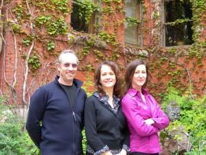 Jeff Waltcher, Jane Vosper, and Lisa Johnston