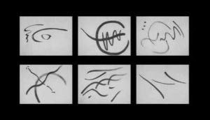 spontaneous calligraphies
