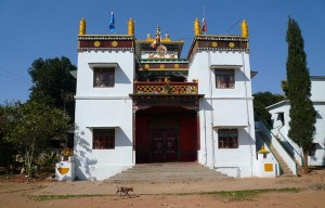 Thupten Mindrolling Monastery, photo courtesy of the Ripa Ladrang Foundation