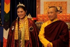Sakyong and Sakyong Wangmo at last year's empowerment