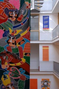Detail at Shambhala Europe, Cologne, where the 2007 congress was held