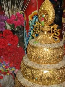 Mandala Plate at Dodrupchen Monastery in Golok