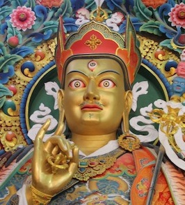 Padmasambhava, photo by Walker Blaine