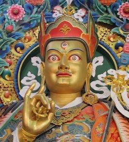 Padmasambhava, photo by Walker Blaine