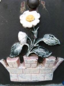 A Flowering Monarch