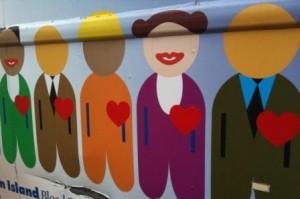Hearts Exposed... Together. Photo courtesy of Jennifer Holder.