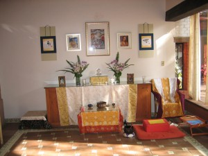 Shrine Room at Casa Werma