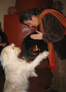 Teaching a Shambhala Bow to Daisy