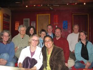 Weekthun participants - Marytu, Yeshe, Martha, Ingrid, Chaya, devon, Steve, Matt, Mark, and Sandra