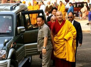 His Holiness the 17th Karmapa on Tour, Courtesy of Karmapanetwork.eu