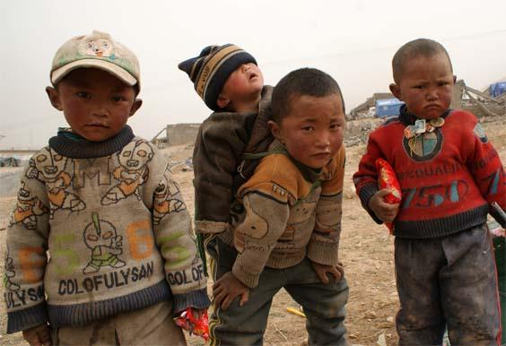 Children in Jyekundo, photo by Kontargyal