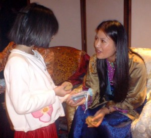Sakyong Wangmo on Children's Day