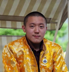 Khyentse Yangsi Rinpoche in Bhutan