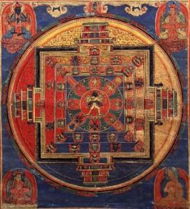 Kalachakra Mandala, courtesy of HimalayanArt.org