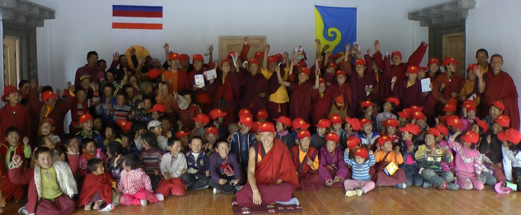 Opening of the children's school at Surmang Monastery this fall