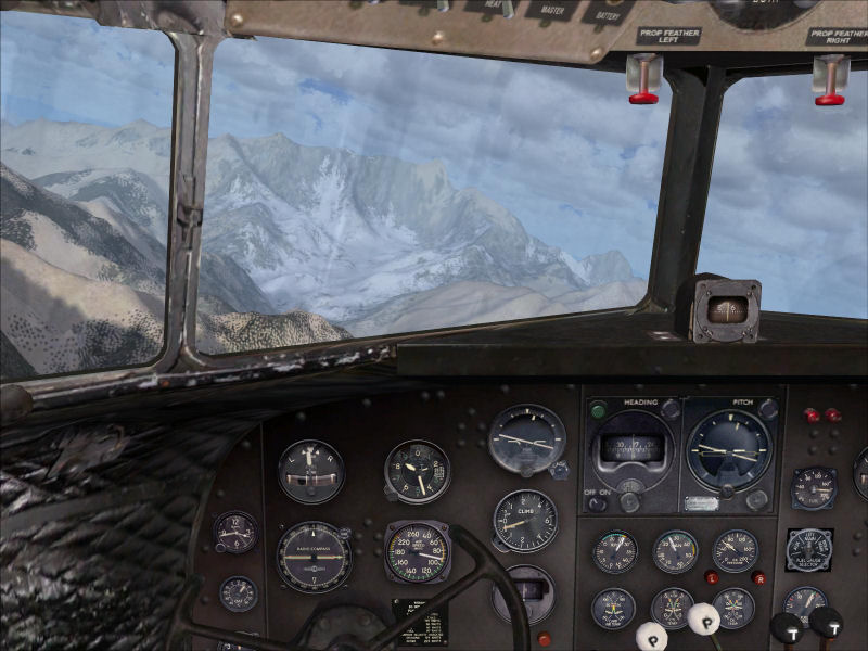 Flight Simulator Cockpit View
