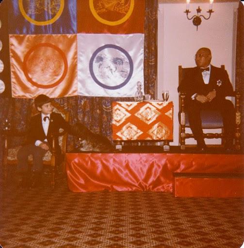 Vidyadhara Chogyam Trungpa Rinpoche and Gesar Mukpo