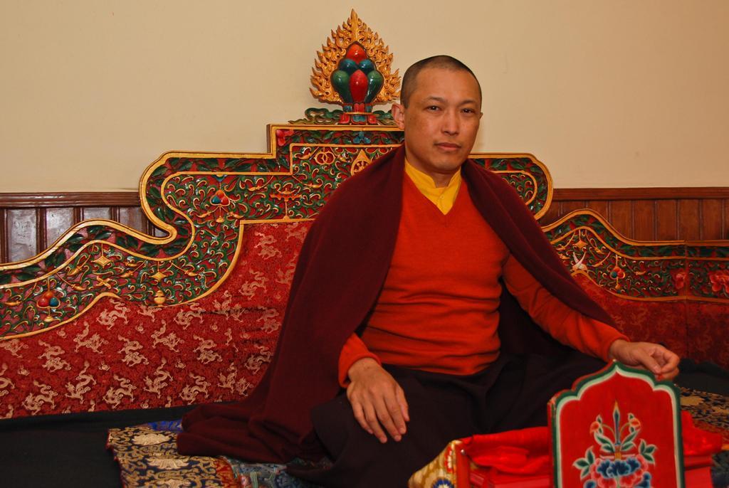 The Sakyong on Deep Retreat at Rigon Tashi Choeling monastery in Nepal.